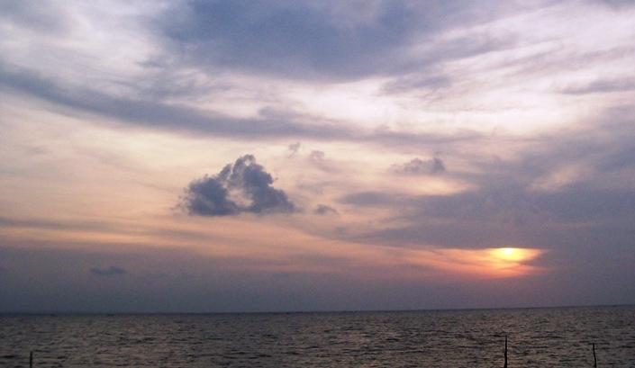 Sunrise @ Pantai Kenjeran