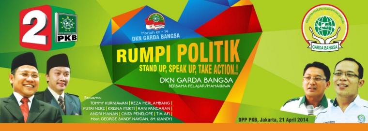 Belajar Politik dengan Caleg Artis PKB