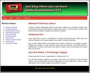 Membuat CMS PHP MySQL Menggunakan Dreamweaver CS5, CS4, CS3 (Part 1)