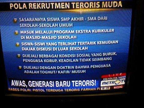 Rohis (bukan) Teroris