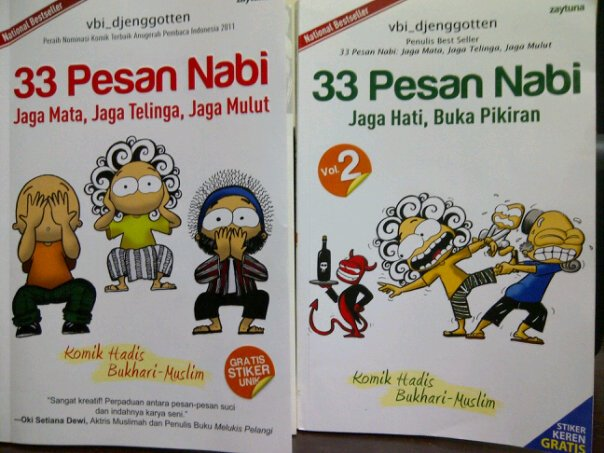 Resensi Komik Hadis Bukhari-Muslim: 33 Pesan Nabi (National Bestseller)