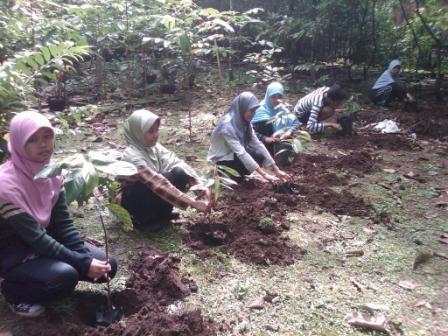 Menanam Pohon, Membangun Taman di Surga