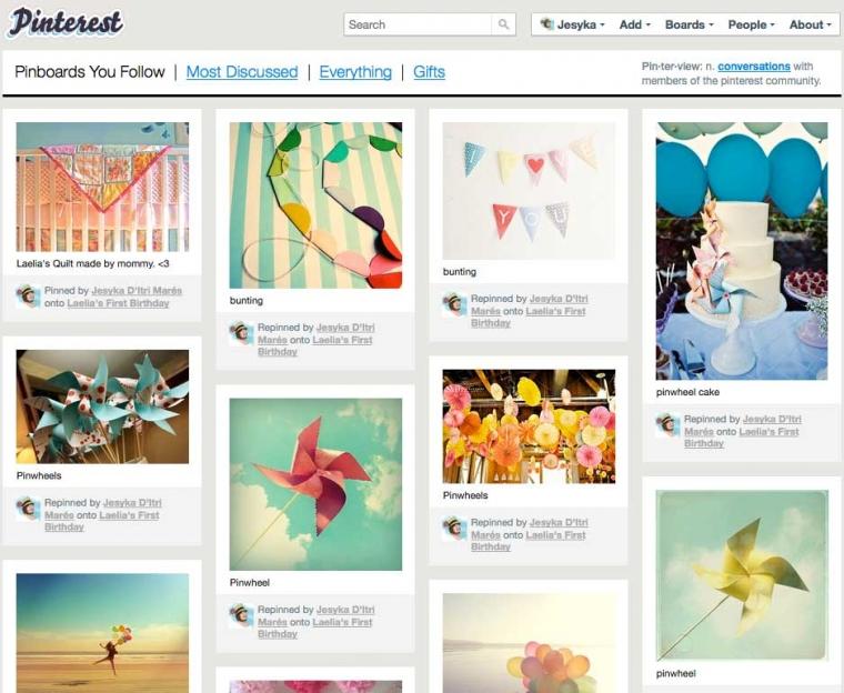 Booming Pinterest & Generasi Visual