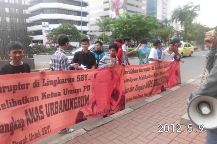 Loyalis SBY Desak KPK Tersangkakan Anas Urbaningrum