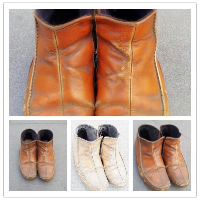 Lusuhnya Sepatu Umar Bakrie