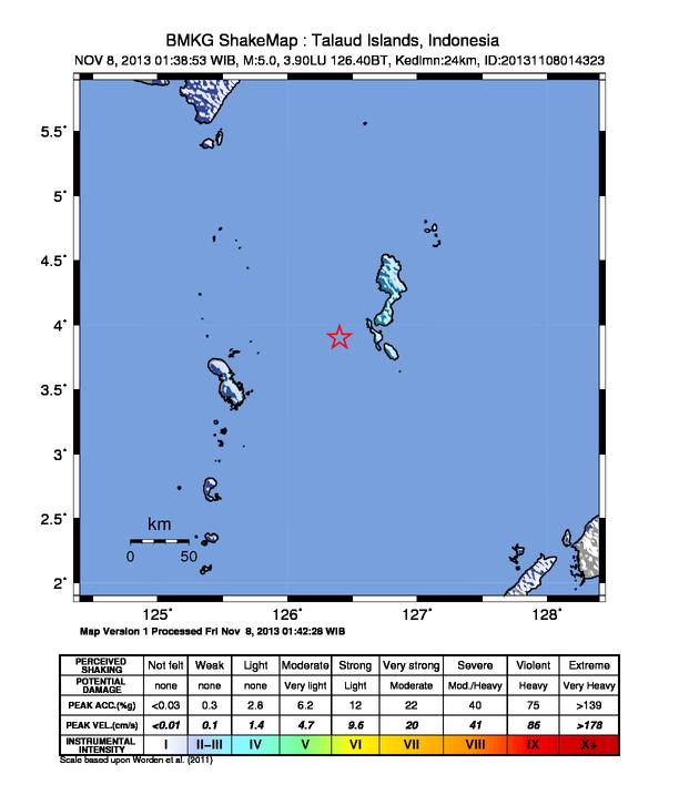 Gempa Bumi Aceh 23 Juni 2012