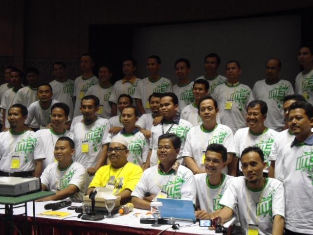 Orang-orang Hebat di Indosat Training and Conference Center Purwakarta