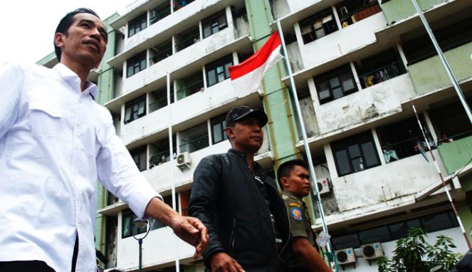 Jaring Laba-Laba di Rusun Jokowi-Basuki