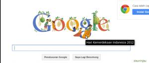 Miris : Penghargaan Google untuk Memperingati Hari Kemerdekaan Indonesia