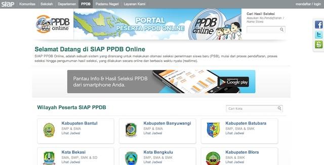 Cara Mendaftar Sekolah via Online (Bagian I)