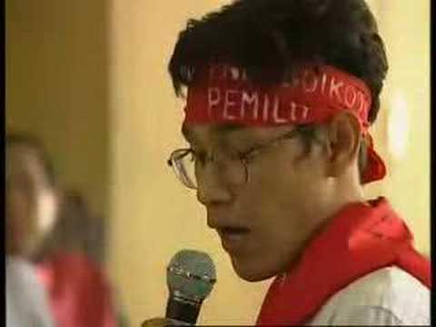 Budiman Sujatmiko : Pembangkangan dan Target Politiknya