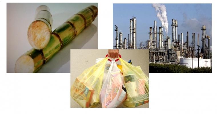 Green Polyethylene, Plastik dari Gula Tebu