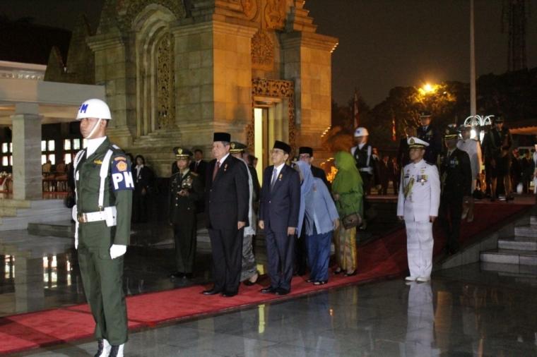 Penghormatan Terakhir Presiden SBY untuk Pahlawan