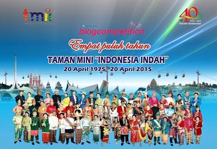 """Pemenang Blog Competition Rekatkan Budaya Bersama Taman Mini """"Indonesia Indah""""!"""