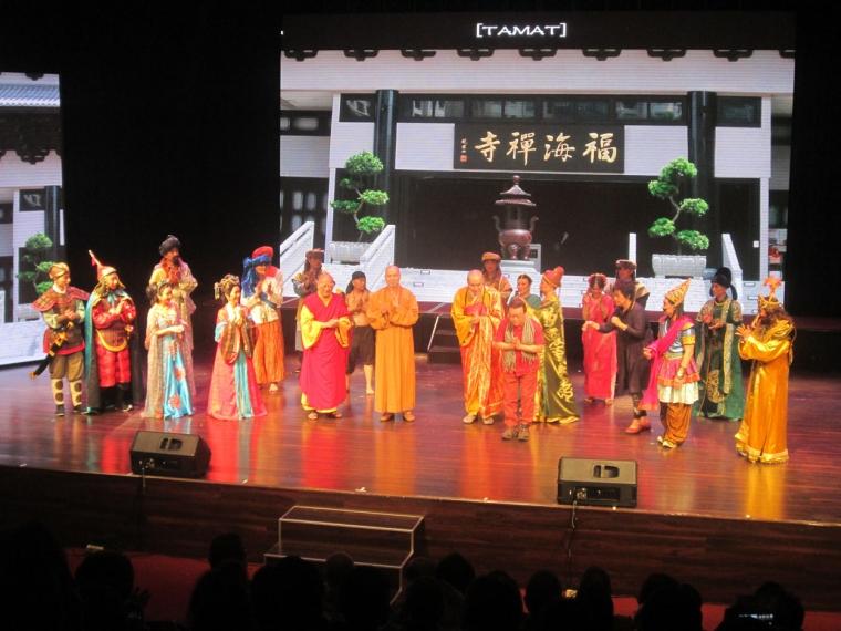 Kabaret Foo Hai Chan Temple Singapura Tampil Prima di Hari Pertama Pementasan
