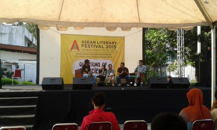 Asean Literary Festival 2015 dalam Kaca Mata Relawan