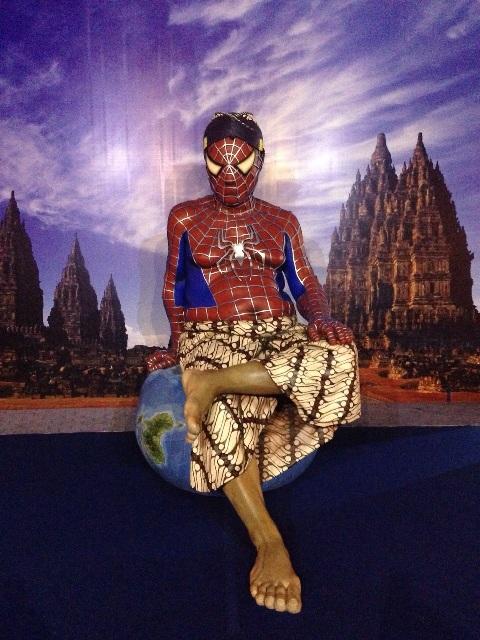 Spiderman Pensiun di Jogja?