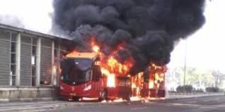 Apakah BBG Penyebab Mudah Terbakarnya Bis TransJakarta?