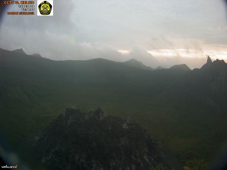 Foto-foto Letusan Gunung Kelud