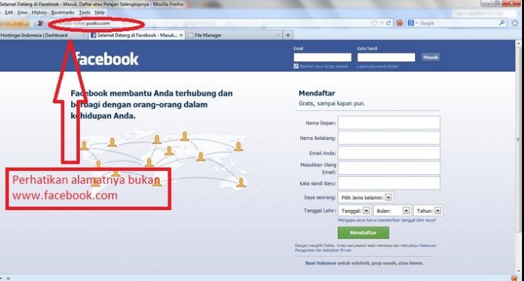 Beginilah Cara Hacker Mencuri Password Fb Anda Kompasiana Com